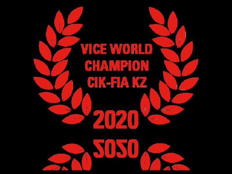 Vice World Champion CIK-FIA KZ 2020