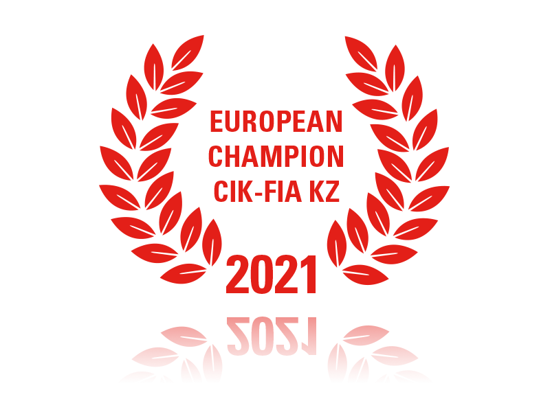 2021 - EU CHAMPION CIK-FIA-KZ