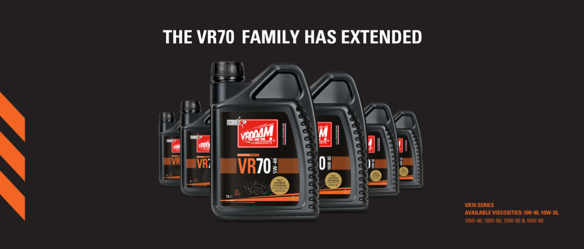 THE VR70 FAMILY HAS EXTENDED