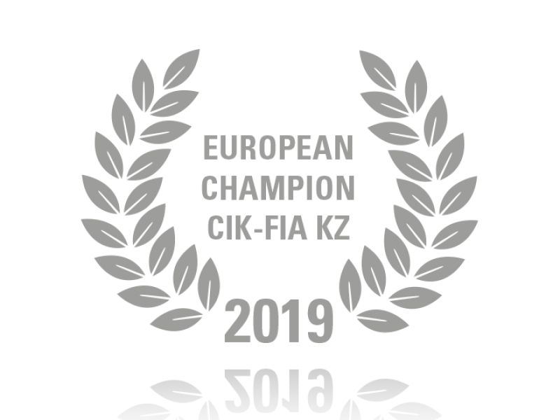 Laurel wreath of European Champion KZ 2019