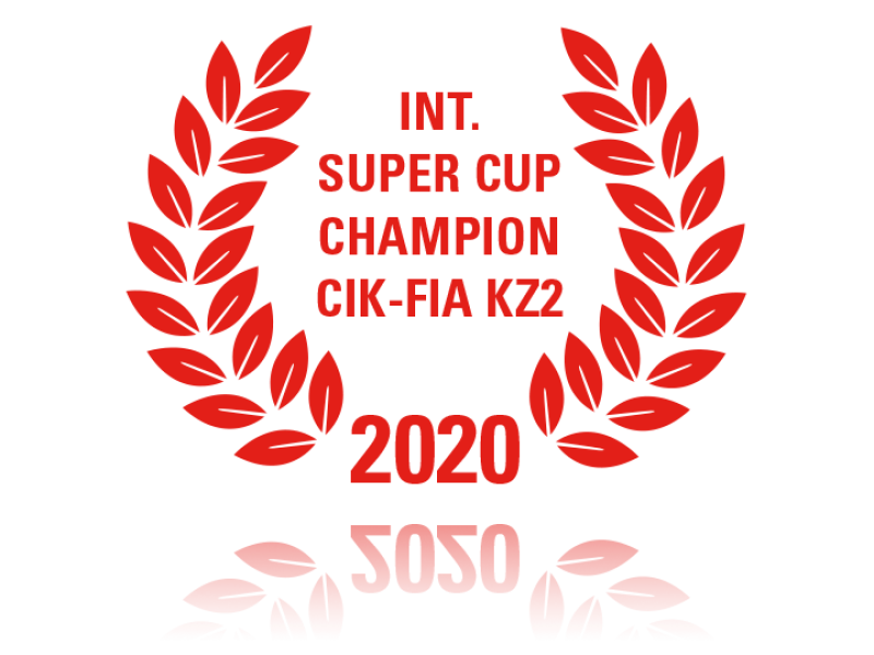 Int. Super Cup Champion CIK-FIA KZ2 2020