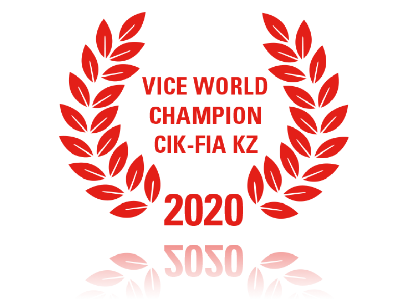 Vice World Champion CIK-FIA KZ 2020