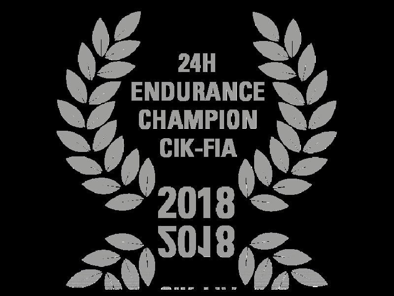 24H Endurance Champion CIK-FIA 2018