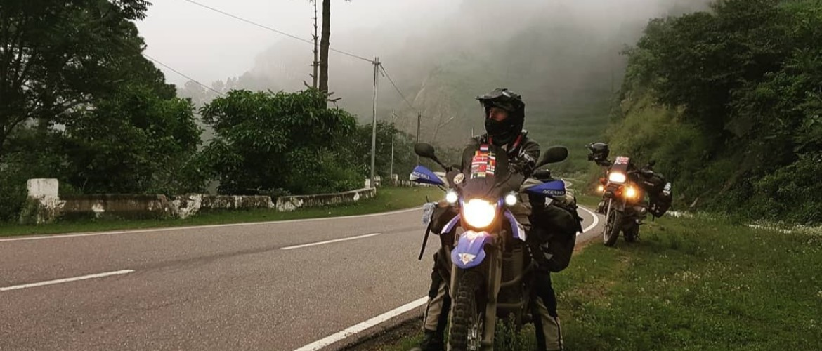From The Netherlands to Nepal by motorcycle 🏍