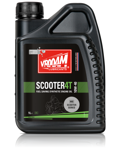 product bottle of vrooam scooter 4T 10W-40 MB 1 litre