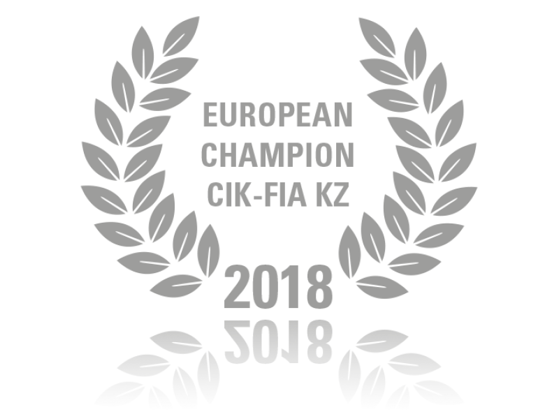 European Champion CIK-FIA KZ 2018