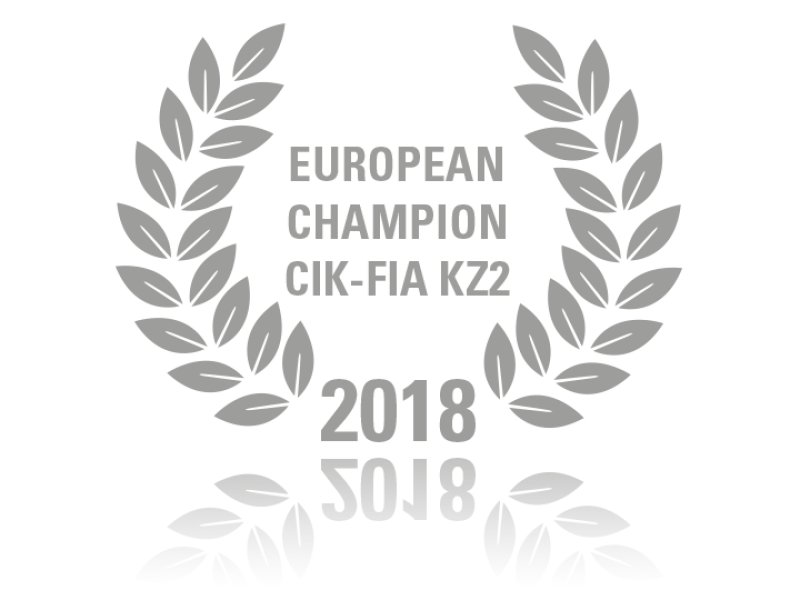 European Champion CIK-FIA KZ2 2018