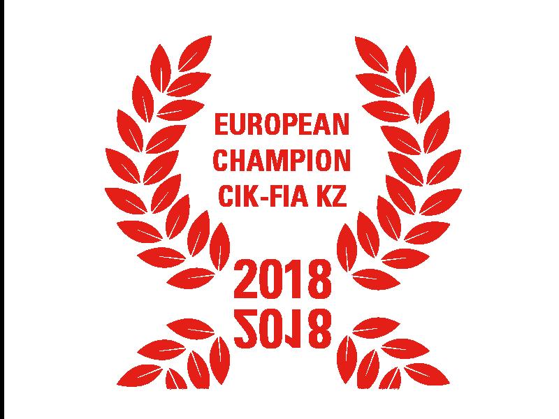 European Champion CIK-FIA KZ 2018