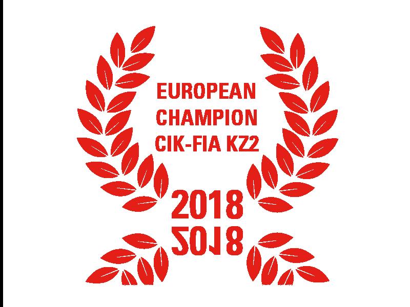 European Champion CIK-FIA KZ2 2018