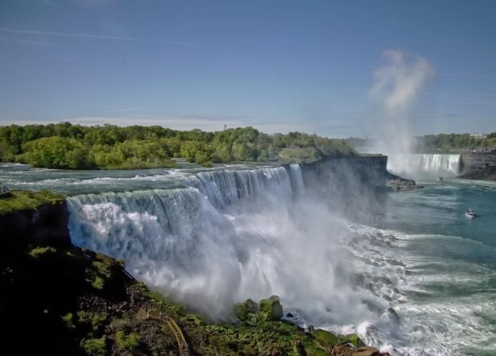 Niagara falls in de buurt van Toronto