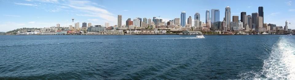 Seattle vanaf het water