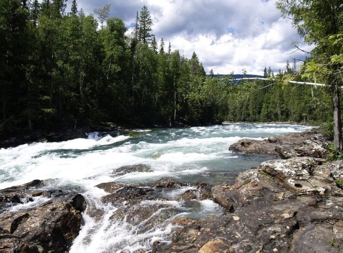 Wells Gray Provincial park Murtle river