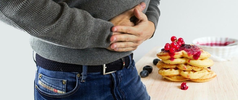 buikpijn na te veel eten