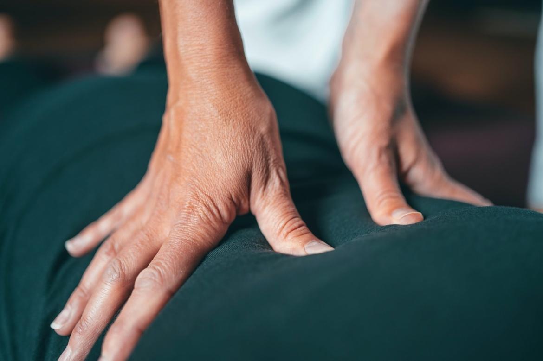 lage rugpijn door overgewicht, masseren