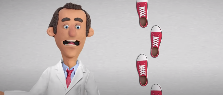 VIDEO - Wat gebeurt er met je lichaam als je elke dag wandelt