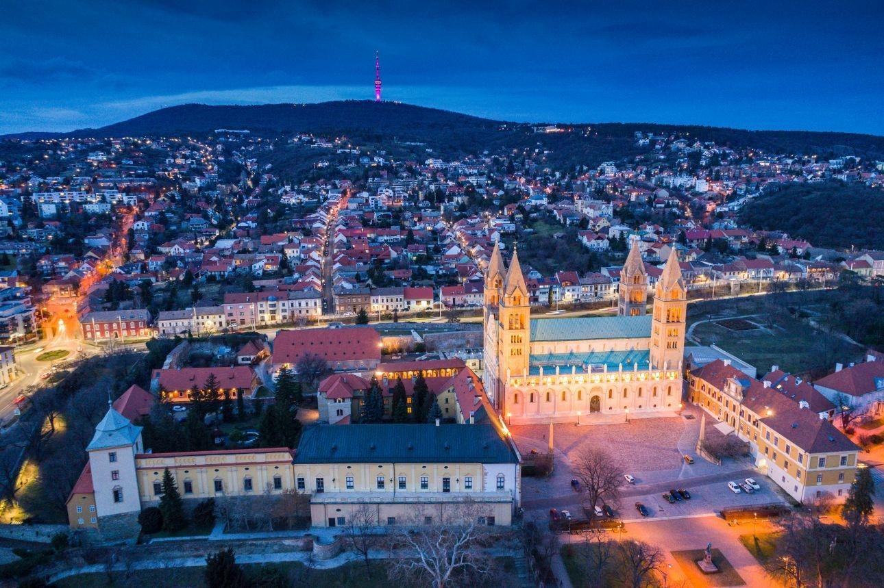 Artventures Pécs centrum Wandeltrektochten