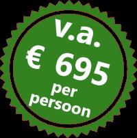 Prijssticker Wandeltrektocht Koppanyvolgy 695 per persoon