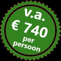 Prijssticker Wandeltrektocht Koppanyvolgy 740 per persoon