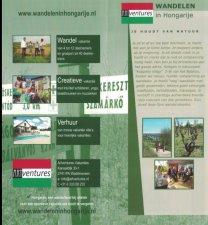 Cover Wandelbrochure