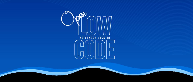 De toekomst van LowCode is open