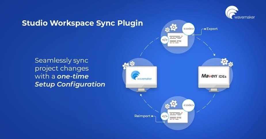 WaveMaker studio workpace sync plugin