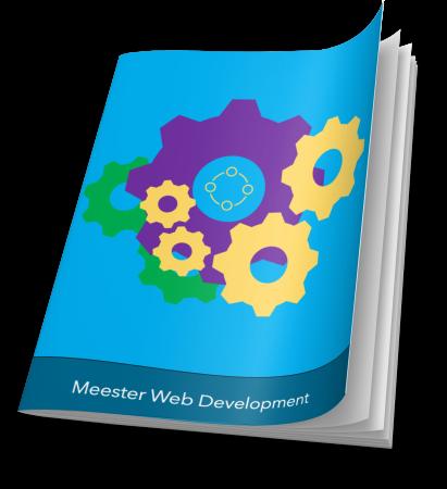 E-book | Meester Web Development