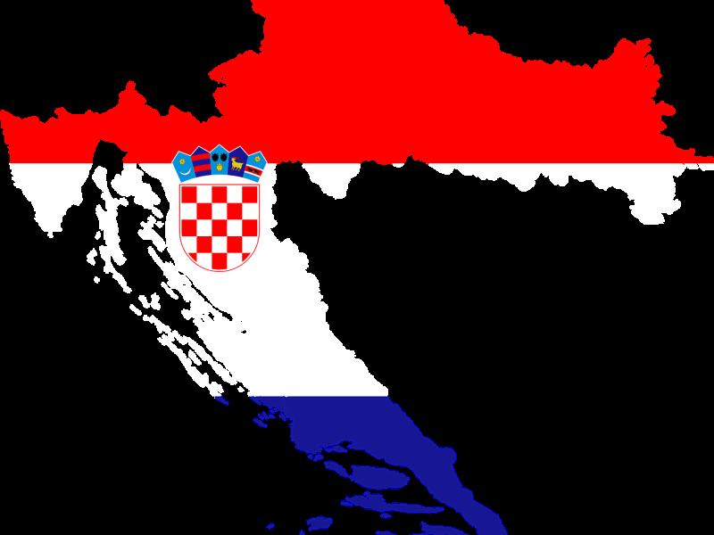 kaart-vlag-kroatie