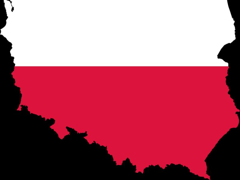 kaart-vlag-polen