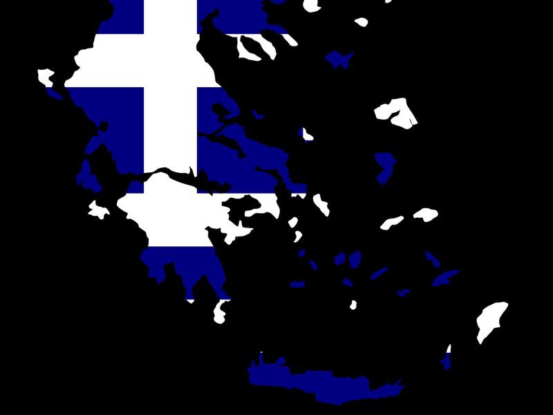 kaart vlag griekenland