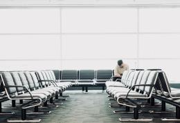 luchthaven-wachten