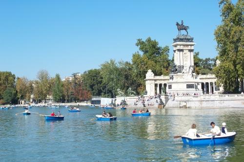 Stedentrip Madrid parken
