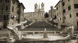 Stedentrip Rome Spaande trappen