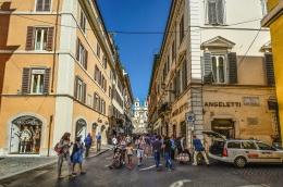 stedentrip rome winkelen
