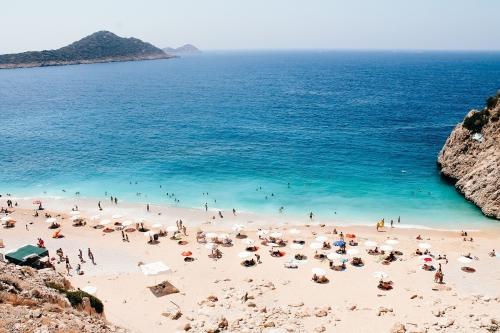 Zonvakantie Turkije strand