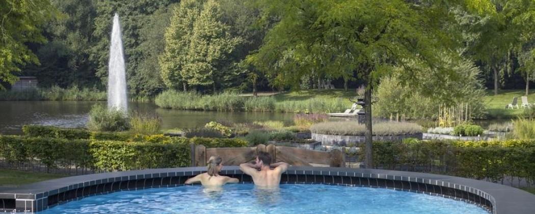 Thermale baden van Bad Nieuweschans in Groningse land