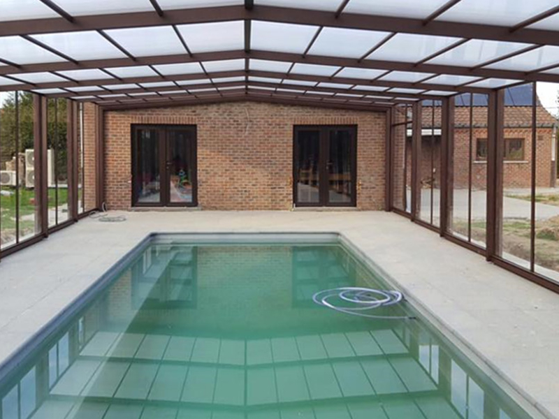 aanbouw zwembad overkapping