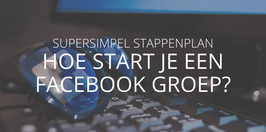 facebookgroep starten
