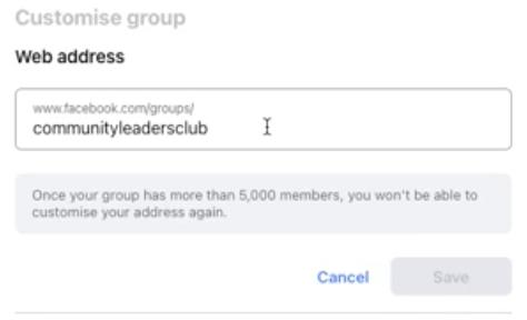 Gebruiksvriendelijke URL voor je community