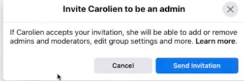 Hoe maak ik iemand moderator van mijn Facebookgroep?