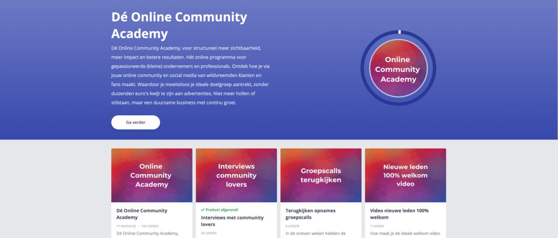 Waarom koos ik voor The Huddle voor mijn eigen online community?