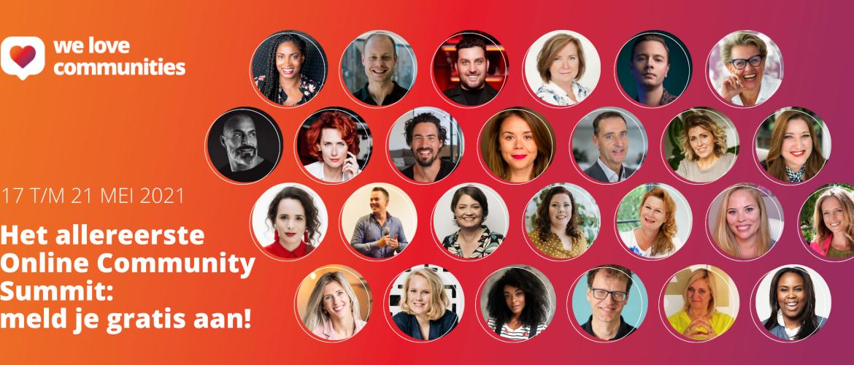 Eerste Online Community Summit van Nederland start 17 mei