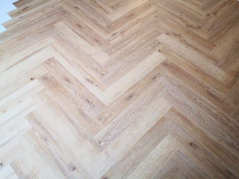Objectflor golden valley oak eiken visgraat rustiek naturel