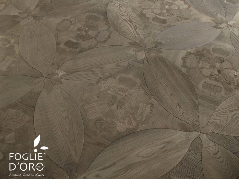 Italiaans design Diamanti Fogli d'oro vloer
