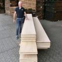 De grootste en breedste, brede planken verkrijgbaar in eiken en walnoot.
