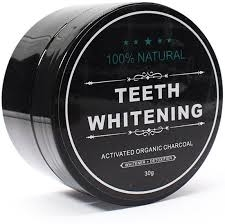 charcoal tooth whitening