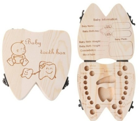Baby Tooth Box