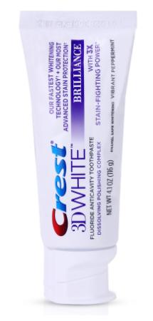 Crest 3D Brilliance Toothpaste