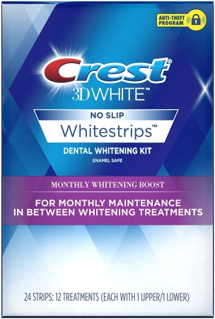 Crest 3D Monthly Whitening Boost Whitestrips