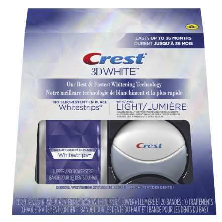 Crest 3D Whitestrips with Light