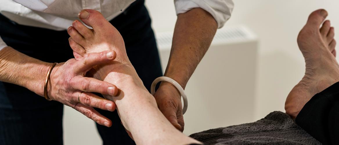 Bijscholing fysiotherapie over de voet
